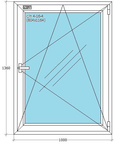Металлопластиковые окна в Ирпене Буче Гостомеле Ворзеле из профиля WDS, Salamander