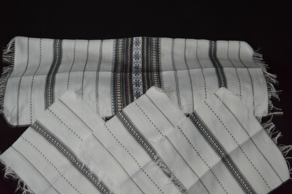 """Тканые рушник с 6 салфетками,ручная работа, 195/135 - """"Забавочка"""" магазин-мастерская в Хмельницкой области"""
