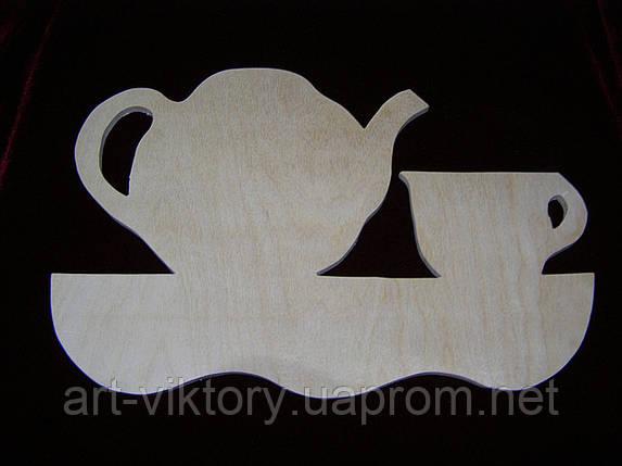 Заготовка чайник с чашкой, фото 2