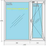 Заказать Металлопластиковые окна Salamanderб, WDS в Ирпене Буче Гостомеле Ворзеле