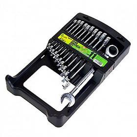 Набор ключей комбинированных с трещоткой  ALLOID 11st  8-19мм НК-2081-11