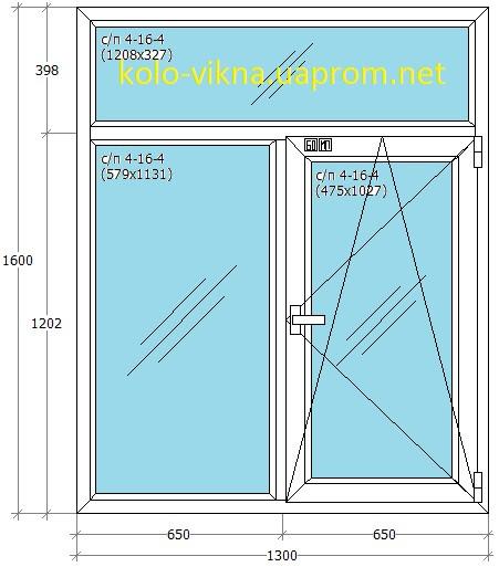 Т-образное окно в Ирпене Буче Гостомеле Ворзеле