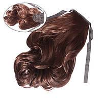 Шиньон из искусственных волос на лентах Легкий завиток 60 см Lady Victory 100г LDV SHS-BCL /54-31
