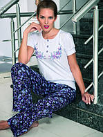 Женская хлопковая пижама 100% качество