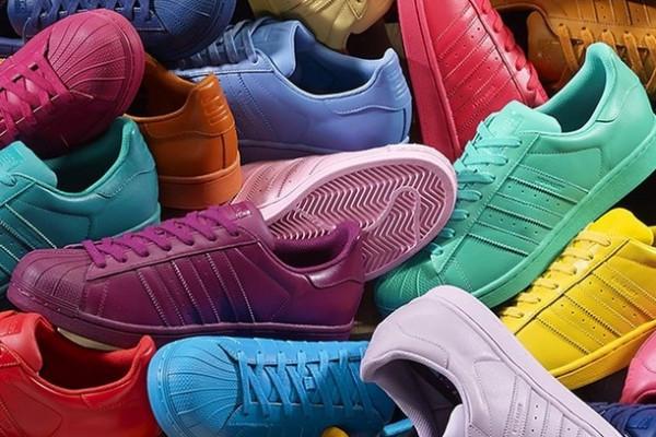 Кроссовки мужские Adidas Superstar Supercolor