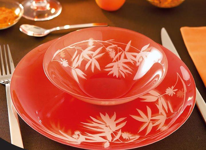 Набор столовой посуды Darjeeling Orange 19 приборов