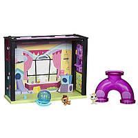 Набор Littlest Pet Shop игровая комната с хомячками