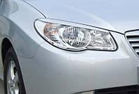 Реснички на фары Hyundai Elantra 2006-2011
