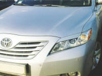 Реснички на фары Toyota Camry V40 2006-