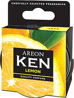 Ароматизатор в авто Areon KEN сухой Лимон