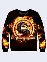Свитшот Mortal Kombat logo