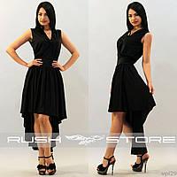 Вечернее платье асимметричное, фото 1