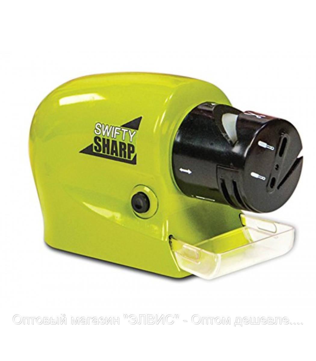 """Универсальная электроточилка. Точилка для ножей и ножниц Swifty Sharp  - Оптовый магазин """"ЭЛВИС"""" - Оптом дешевле. Нашли дешевле звоните сделаем еще дешевле! в Одессе"""