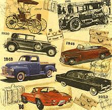 Салфетки декупажные Автомобили 5724