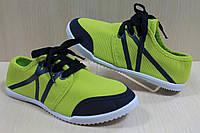 Кеды мокасины, спортивная стильная, удобная, текстильная обувь р.31,32