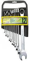 Набор ключей комбинированных 12st  6-22мм на холдере ALLOID нк-1061-12