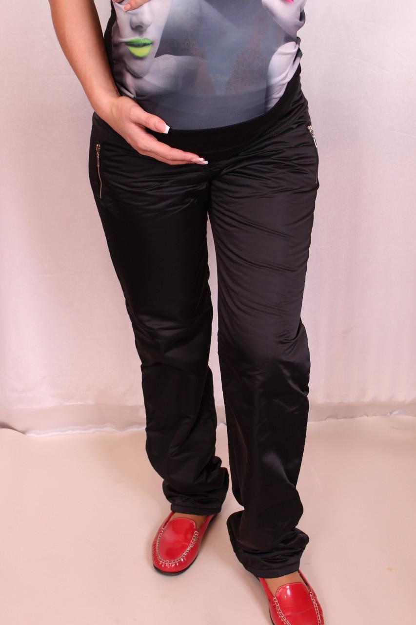 Спортивные брюки для беременных утепленные на флисе - Интернет-магазин