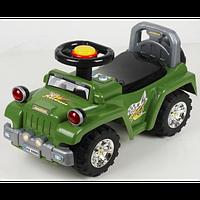 Машинка-каталка Alexis-Babymix HZ-553 (green)