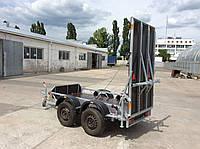 Причіп-платформа-евакуатор. 2-х вісний. З гальмом!, фото 1