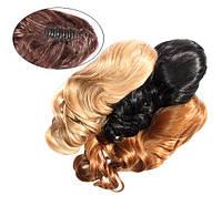 Шиньон из искусственных волос на заколках Легкий завиток 60 см Lady Victory 100г LDV SHS-CCL /04-41
