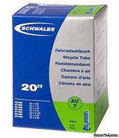 """Камера 20"""" х 1,5-2,5"""" (40/62 - 406) Schwalbe AV7, AV40"""