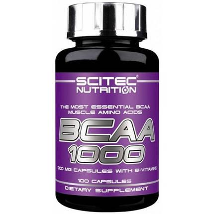 Амінокислоти BCAA 1000 Scitec Nutrition, фото 2