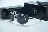Солнцезащитные очки Linda Farrow с черной оправой, фото 1