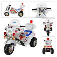 Детский мотоцикл с багажником