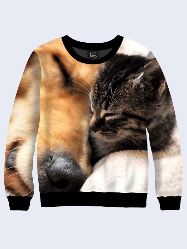 Свитшот Кот и Пёс