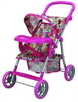 Прогулочная коляска с бампером для куклы «Milana»