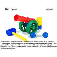 Игра Царь-пушка в сетке toys-plast 39-5-0505
