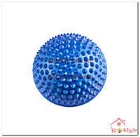 Полусфера массажная балансировочная синяя
