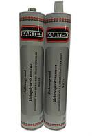 403030 Герметик полиуретановый, клеяще-уплотняющый PU Черный Kartex, 310 мл