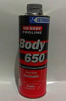 Антикоррозионное покрытие Body 650 (Антигравий, гравитекс, барашек) Серый 1кг