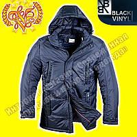 Куртка - парка мужская Black Vinyl