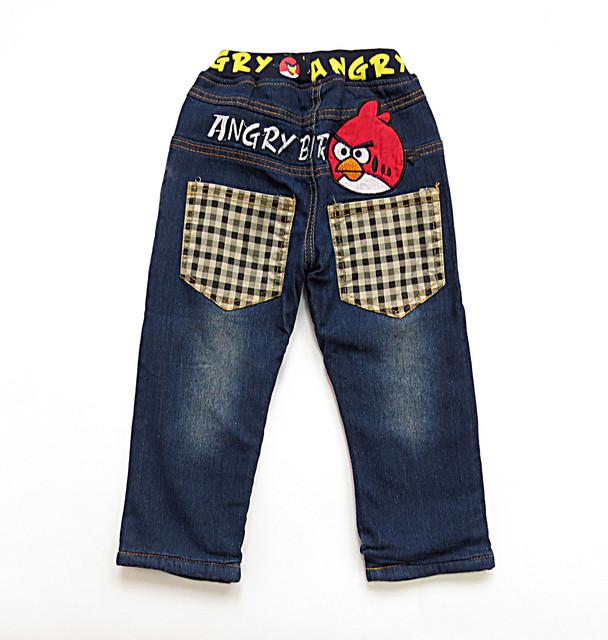 Теплые джинсы и штаны для мальчика