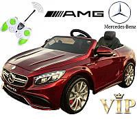 Детский электромобиль Mercedes AMG M 2797 EBRS-3 АВТОПОКРАСКА и мягкие колеса