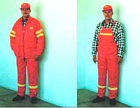 Костюм рабочего дорожных служб