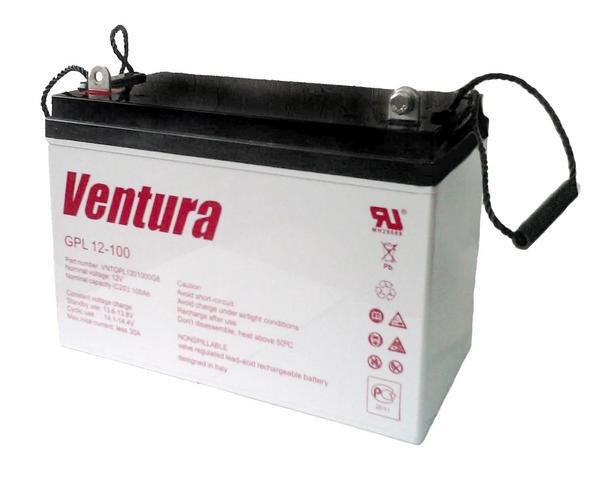 АКБ Ventura GPL 12 — 100