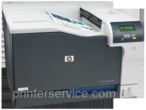 Цветной лазерный принтер HP color laserjet cp5225n формата A3