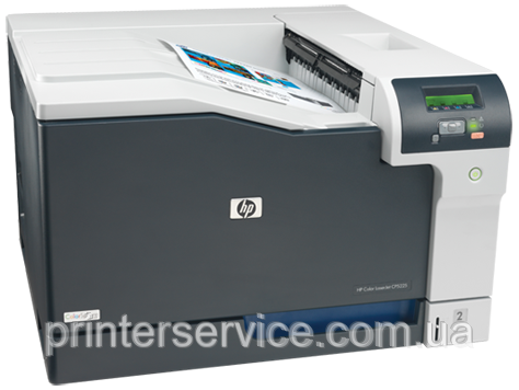 Цветной лазерный принтер HP Color LaserJet CP5225dn формата А3 duplex