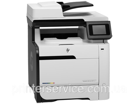 Цветной принтер-сканер-копир-факс HP LaserJet Pro 400 MFP M475dn