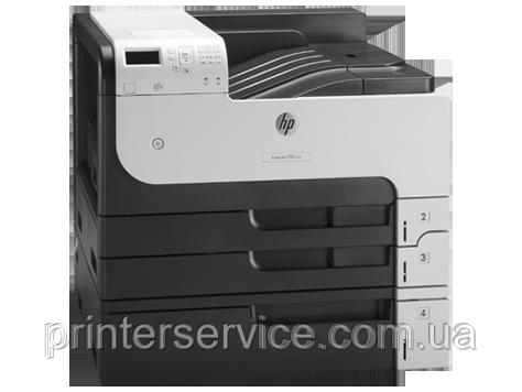 Принтер А3 HP LaserJet M712xh, монохромный
