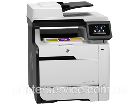 HP LaserJet Pro 300 MFP M375nw, лазерное цветное МФУ 4в1 +Wi-Fi