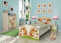 """Модульная комната """"Мишка с букетом"""""""