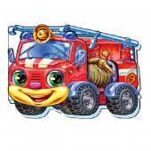 Забавные машинки (мини) : Пожарная машин… (арт.М324010Р)