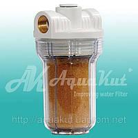 """Фильтр для воды MIGNON Gusam 2P 5"""" 1/2"""" 3 выхода (с ионообменной смолой) HI."""