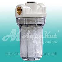 """Фильтр для воды MIGNON Gusam 2P 5"""" 1/2"""" три выхода (c полифосфатом) HP."""