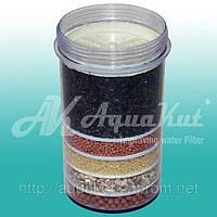 Картридж пятислойный с умягчением  для фильтра минеральной воды MS-5.