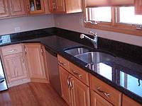 Стеклянная кухонная столешница, фото 1
